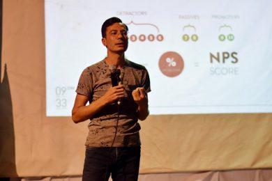 سخنرانی قادر صادقی در اولین رویداد 9:33 دیجیتال مارکتینگ